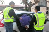 La Guardia Civil desmantela una organización dedicada a la comisión de robos en viviendas en Totana