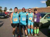 Atletas del Club de Atletismo Totana participaron en la Media Maratón de Santa Pola (Alicante)