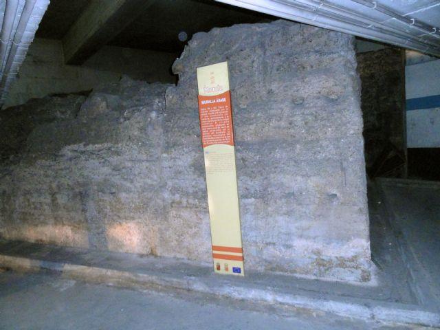 El Grupo Socialista pedirá una valoración técnica sobre el estado de la muralla del parking de La Glorieta - 1, Foto 1