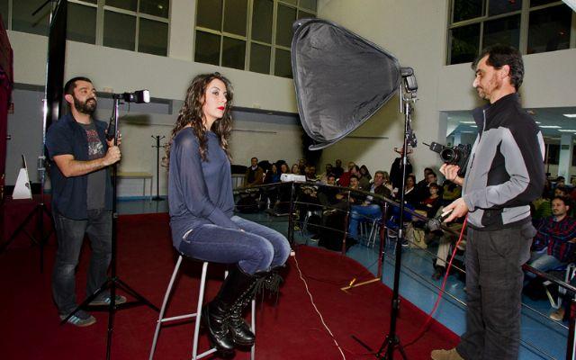 José Antonio Fernández enseña los fotógrafos a no tenerle miedo al flash - 1, Foto 1