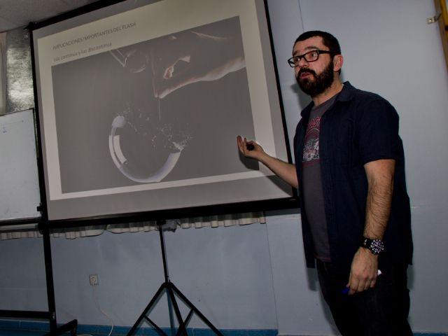 José Antonio Fernández enseña los fotógrafos a no tenerle miedo al flash - 2, Foto 2