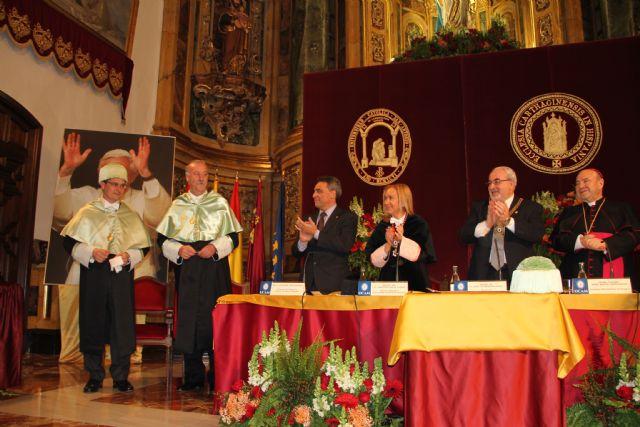 Vicente del Bosque Doctor Honoris Causa por la UCAM - 2, Foto 2