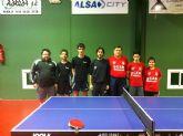 Tenis de mesa. Club Totana T.M. Resultados de los partidos de este fin de semana