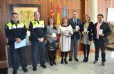 La alcaldesa de San Pedro del Pinatar recibe la Gran Cruz de Caballero de Santiago