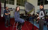 Jos� Antonio Fern�ndez enseña los fot�grafos a no tenerle miedo al flash