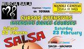 La Escuela de Danza MANOLI CÁNOVAS y MURCIABAILA organizan un intensivo de Salsa en Totana
