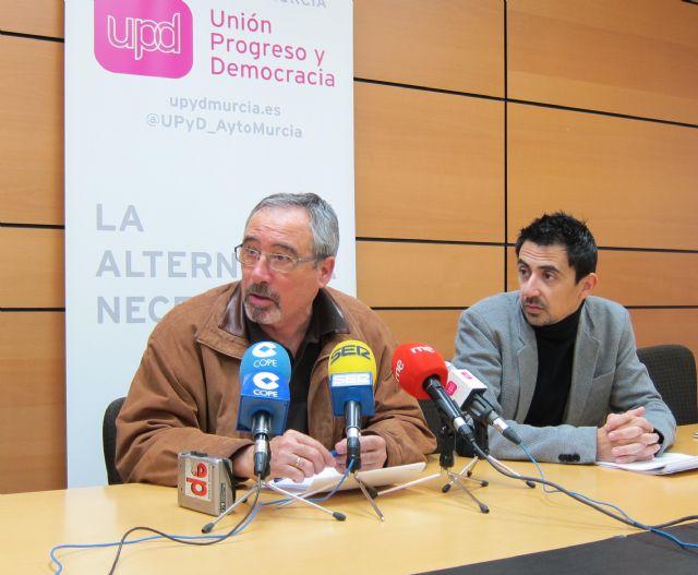 Iniciativas de UPyD Murcia para el Pleno municipal del mes de enero 2013 - 1, Foto 1