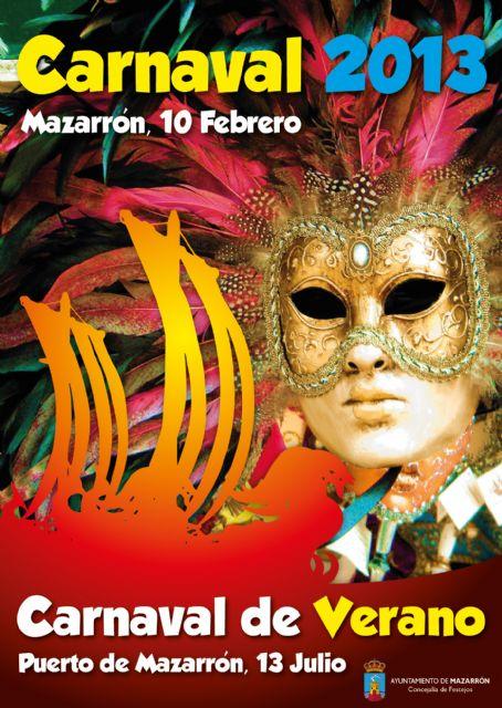 El carnaval fomenta la participación de peñas foráneas y viajará en verano a Puerto de Mazarrón - 1, Foto 1