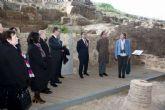 El Secretario de Estado de Cultura destaca el valor arqueológico de la ciudad