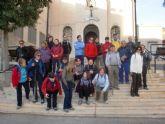 La concejalía de Deportes organizó el pasado domingo una ruta de senderismo por la costa de Cartagena