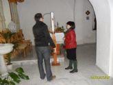 El ayuntamiento informará y evaluará los daños por la humedad provocados en la ermita de 'Nuestra Señora del Rosario'