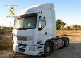 La Guardia Civil recupera una cabeza tractora de tráiler valorada en 40.000 euros