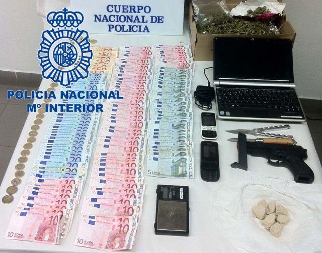 La Policía Nacional detiene al autor del atraco a una farmacia de los Garres - 1, Foto 1