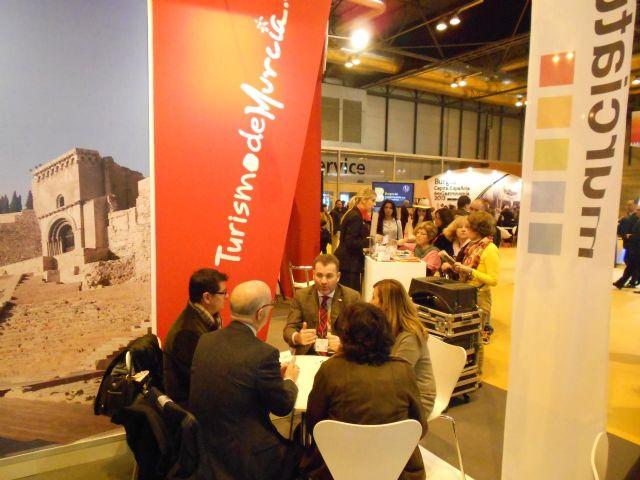 El Alcalde destaca las posibilidades de Murcia como destino turístico y de congresos - 1, Foto 1