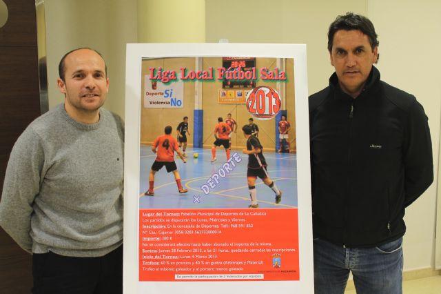 La liga local de fútbol sala 2013 comenzará a disputarse en marzo, Foto 1
