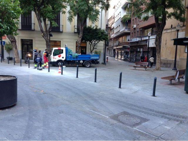 Calidad Urbana continúa velando por la accesibilidad y estética de las áreas peatonales - 1, Foto 1
