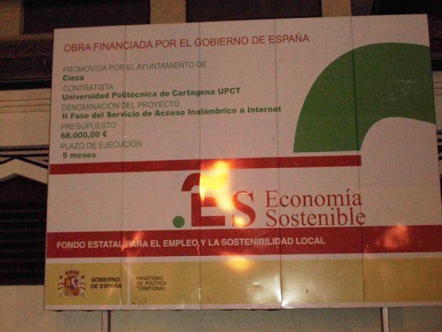 El PSOE pide al PP que aclare los dos años de retraso en las obras para instalar servicio wifi en zonas publicas - 1, Foto 1
