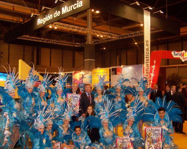 El alcalde de Águilas y el presidente de Renfe firman un convenio de colaboración en FITUR - 3, Foto 3
