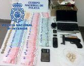 La Policía Nacional detiene al autor del atraco a una farmacia de los Garres