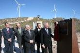 Valcárcel inaugura un nuevo parque eólico en el Altiplano, que sitúa a la Región en un referente en la producción de energía renovable
