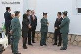 El delegado del Gobierno y la alcaldesa reinauguran las obras de rehabilitación del cuartel de la Guardia Civil