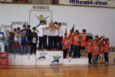 La final de 'Jugando al atletismo' congregó a 250 pequeños atletas de distintos colegios