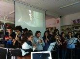 Actividades musicales en el iES Juan de la Cierva y Codorníu de Totana con motivo de la celebración del día de Santo Tomás de Aquino