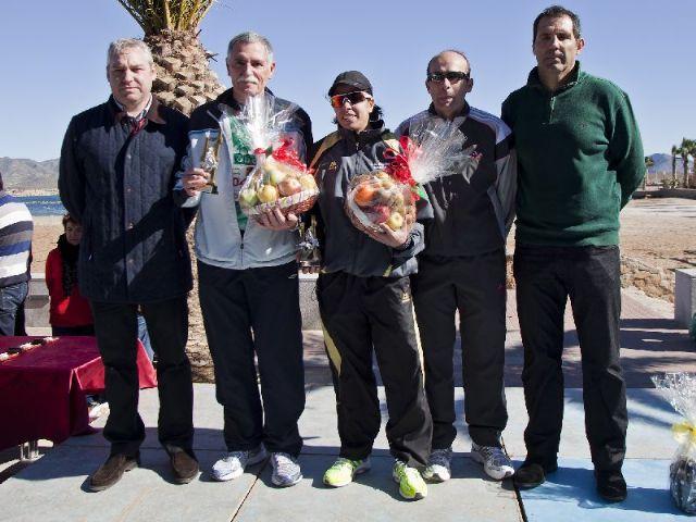 Más de 300 atletas desafían al viento durante la II Media Maratón Bahía de Mazarrón - 3, Foto 3