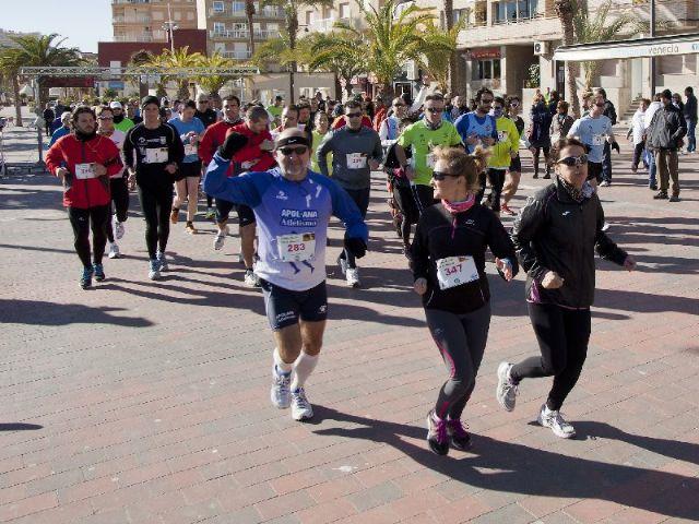 Más de 300 atletas desafían al viento durante la II Media Maratón Bahía de Mazarrón - 4, Foto 4