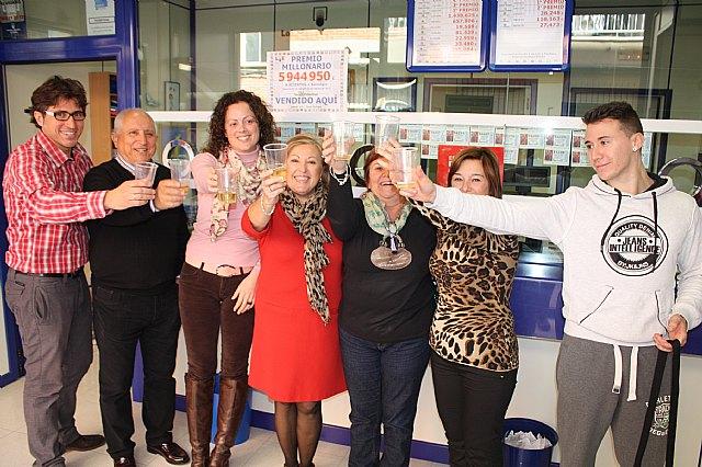 La administración nº 1 de Torre-Pacheco reparte casi 6 millones de euros en el sorteo de la Loteria Primitiva del pasado sábado - 1, Foto 1