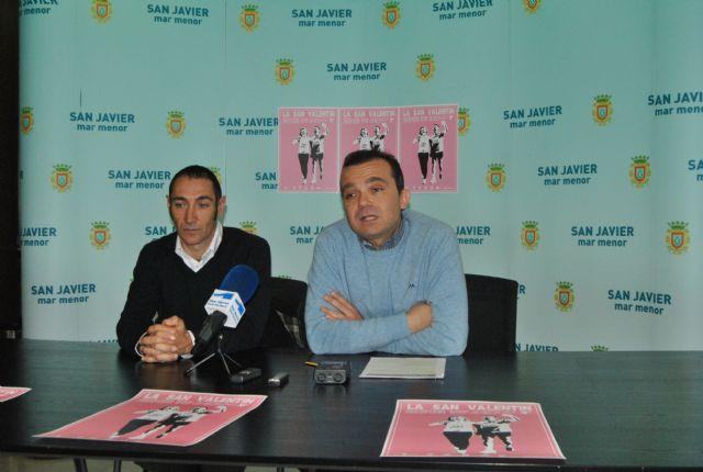 La carrera más romántica, La San Valentín 2013 se celebra el próximo domingo en San Javier con un millar de corredores - 2, Foto 2