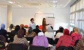 El Plan de voluntariado colabora con un servicio de ludoteca en los talleres de español para inmigrantes