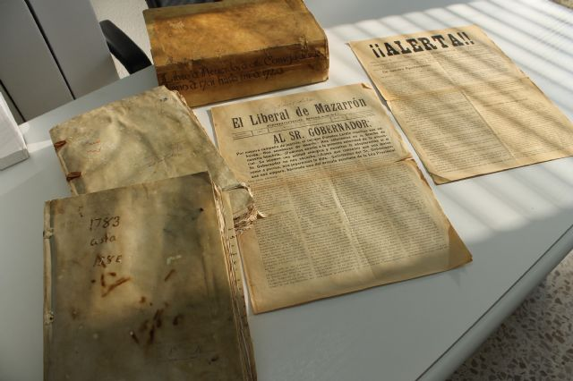 El Archivo Municipal suma al Proyecto Carmesí las Actas Capitulares del siglo XVIII - 1, Foto 1