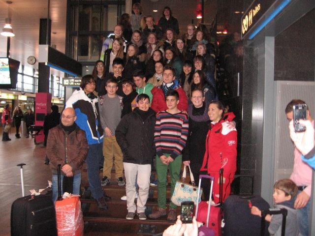 15 alumn@s del IES Felipe II participan en un programa de intercambio en Holanda - 2, Foto 2