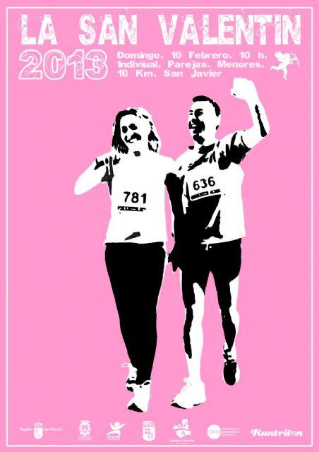 La San Valentín 2013 inaugura la Running Challenge el domingo en San Javier - 1, Foto 1