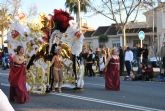 Las Musas de cuatro comparsas compiten mañana por el título de Reina del Carnaval de Santiago de la Ribera 2013