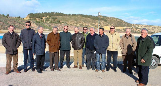 La CHS culmina las obras de modernización de regadíos del trasvase en Alhama de Murcia, Foto 1