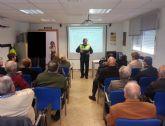 La Policía Local de Molina de Segura imparte charlas sobre educación vial para las personas mayores