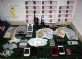 La Guardia Civil desmantela una organización que traficaba con cocaína en Fortuna