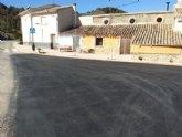 El Ayuntamiento pavimenta las calles que dan entrada a El Berro