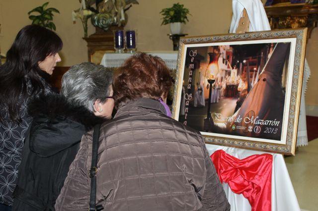 La cofradía de San Juan ilustra el cartel de la Semana Santa de Puerto de Mazarrón - 1, Foto 1