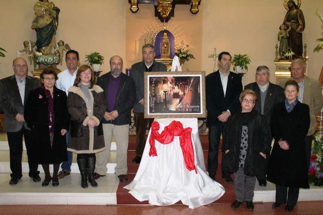 La cofradía de San Juan ilustra el cartel de la Semana Santa de Puerto de Mazarrón - 2, Foto 2