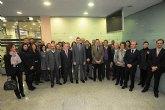 Alcaldes y empresarios de la comarca valenciana de La Ribera se interesan por la red de viveros de la Regi�n como modelo a seguir