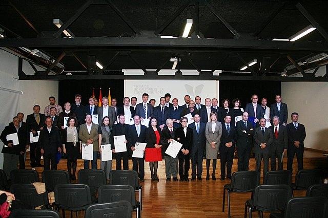 El Castillo Medina Nogalte de Puerto Lumbreras es galardonado en los Premios de Calidad en la Edificación, Foto 1