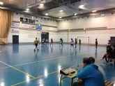 Con la victoria de las jugadoras juveniles del IES 'Villa de Alguazas' arranca el Campeonato Intermunicipal de Balonmano