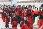 Los alumnos del Colegio 'Guadalentín' de El Paretón-Cantareros han sido los protagonistas del divertido desfile de Carnaval