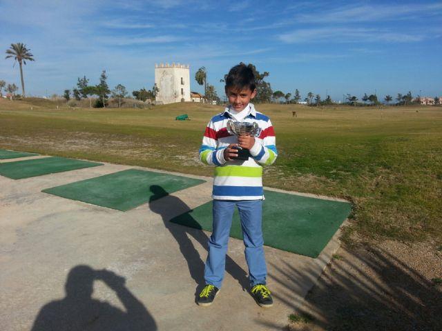Ángel Pérez campeón benjamín del I mensual de golf de la FGRM - 2, Foto 2