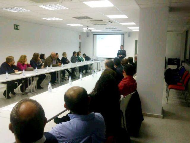 El Ayuntamiento de Alhama quiere convertir el edificio CIDE en un lugar de referencia para los empresarios, Foto 1