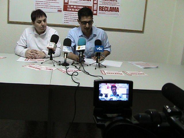 Nota de prensa sobre reclamación copago sanitario. PSOE Mazarrón - 1, Foto 1