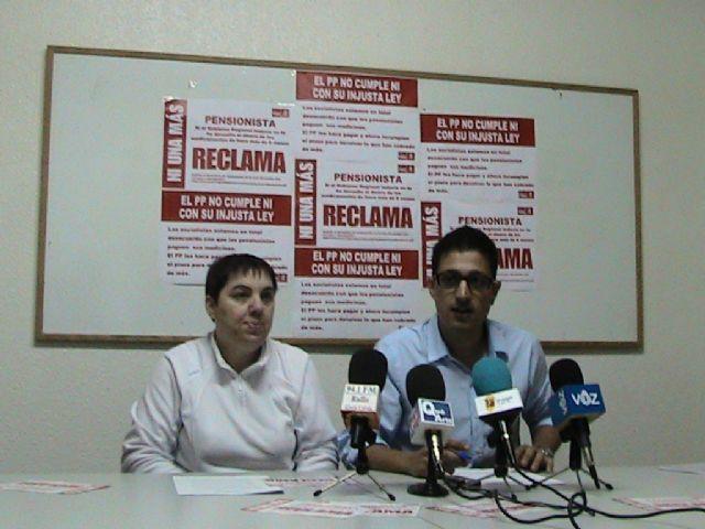 Nota de prensa sobre reclamación copago sanitario. PSOE Mazarrón - 3, Foto 3